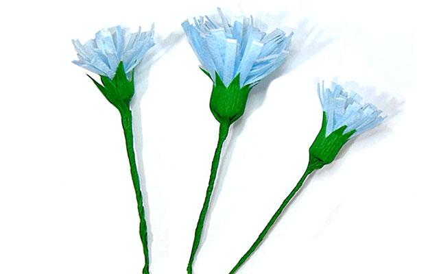 Цветы из медицинских масок
