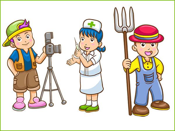 Школьные видеофильмы о профессиях